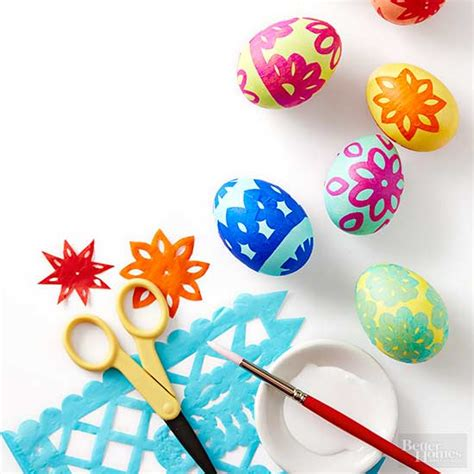 easter egg designs creative ways to dye easter eggs from better homes and gardens