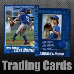 baseball card size template trading cards ideas lessons on trading cards