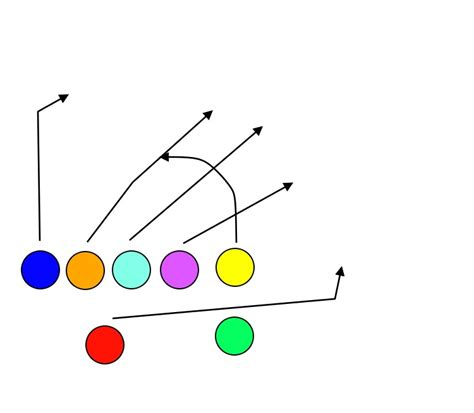 seven plays 7 on 7 flag football plays