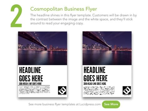 Small Flyer Template