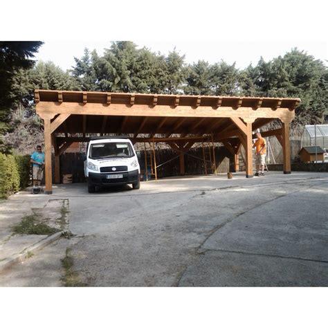 garajes para coches garajes de madera para 2 coches