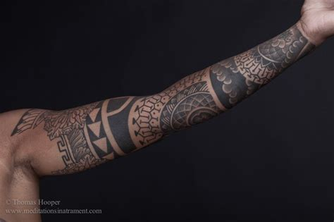 geometric tattoo sleeve hooper sacred geometry sleeve ink