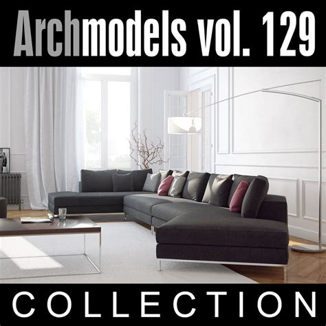 evermotion sofa archmodels vol 129 sofas 3d model