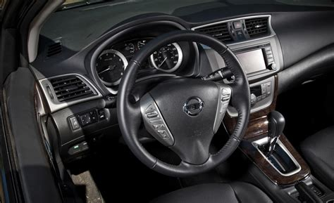 2013 Nissan Sentra Interior by Car And Driver