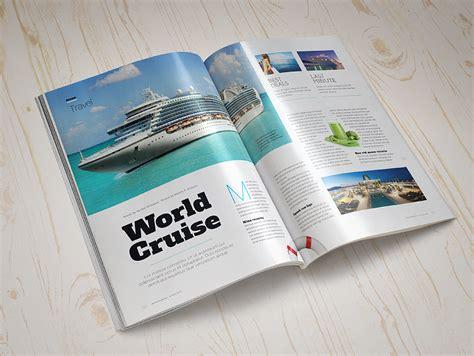 Magazine Set magazine mock up set 2 punedesign
