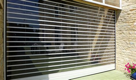 Rideau De Garage by Transparence By Javey Rideau De Protection 224 Lames