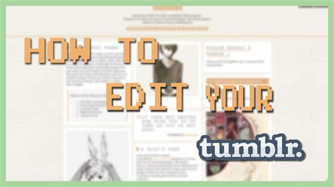 theme tumblr default how to edit your tumblr 2017 new theme cursor scroll