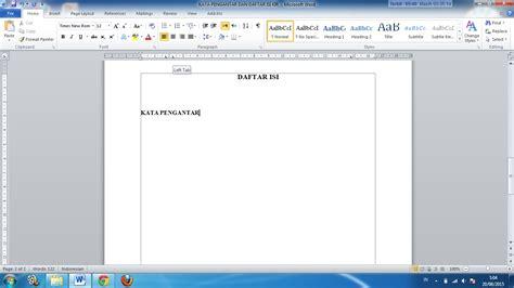 membuat titik daftar pustaka cara membuat titik titik daftar isi makalah dan karya