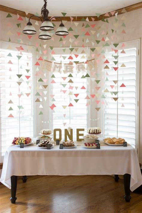 first home decorating ideas 25 best ideas about first birthday decorations on