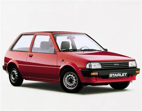 Toyota Starlet Toyota Starlet P70 10 1984 12 1989