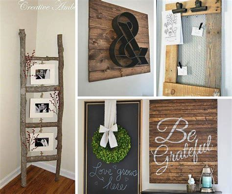 how to diy home decor 59 stylish rustic style home decor ideas to furnish your
