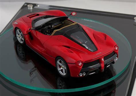 La Ferrari Model 2017 laferrari spider previewed by scale model photos 1