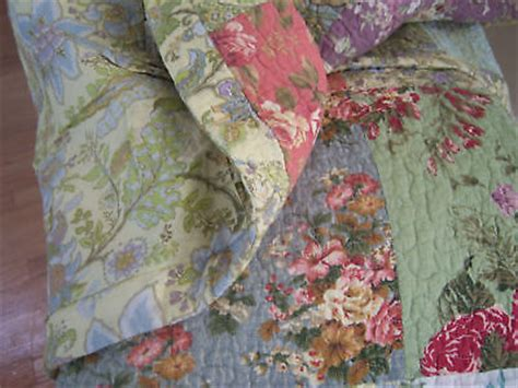 Country Cottage Quilts by Country Cottage Tuscan Patchwork Quilt Shams Set 3pc Farmhouse