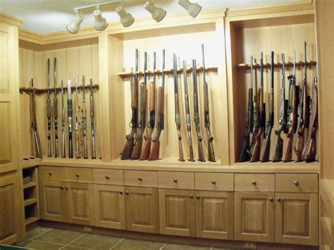 gun room plans cabinetry traditional basement images frompo