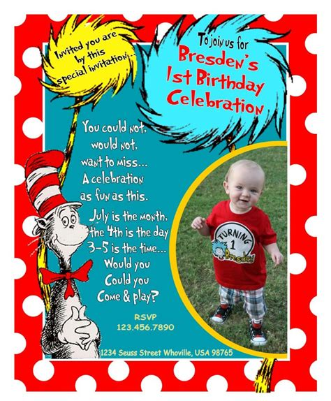 dr seuss birthday invitations templates dr seuss 2nd birthday quotes image quotes at relatably