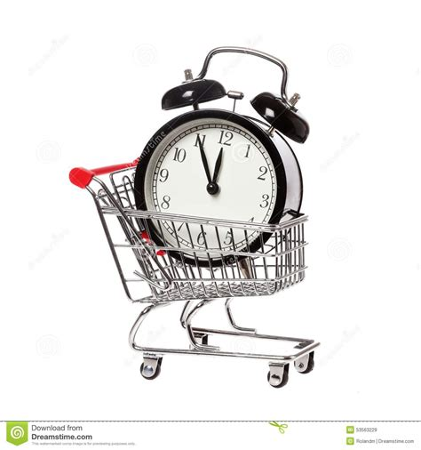 Time To Actually Buy Groceries by Buying Time Stock Photo Image 53563229