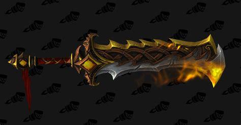 legion artifact weapon skins fury world of warcraft legion best artifact relics for each