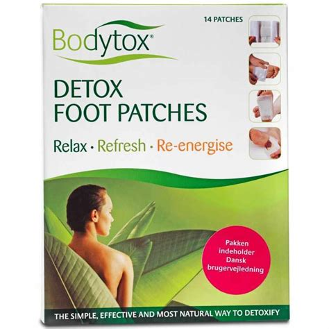 Detox Foot Patches Nz by Bodytox Detox Foot Patches 14 Stk
