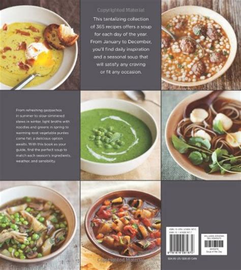 Pdf Soup Day Williams Sonoma Recipes Every by Soup Of The Day Williams Sonoma 365 Recipes