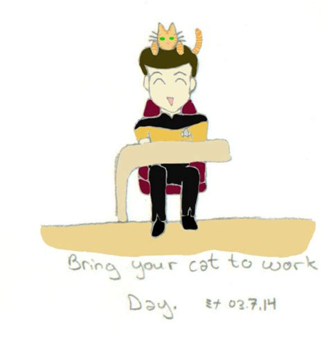 bring your to work day bring your cat to work day by lexkixass on deviantart