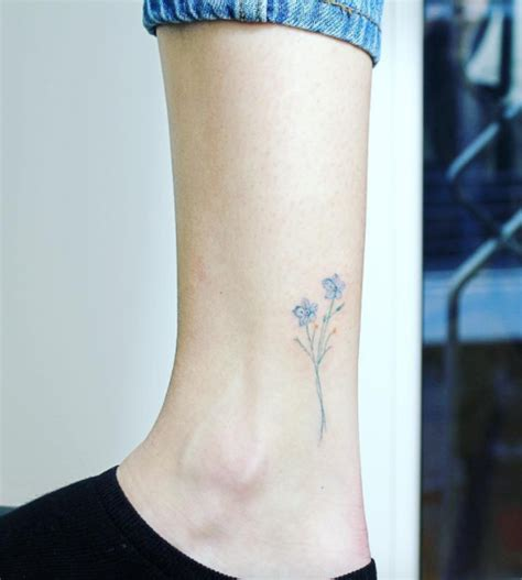 small forget me not tattoo forgetmenot flower tattoos tattoos flower