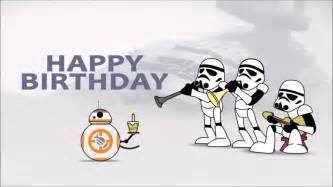 awesome wars birthday card