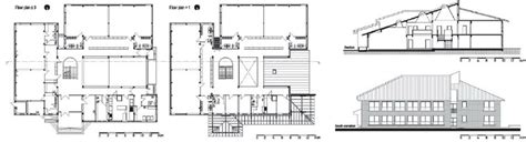 floor plan and elevation floor plan section and elevation of the petar pan