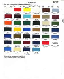 Porsche 911 Paint Colors Porsche Paint Colors Car Interior Design