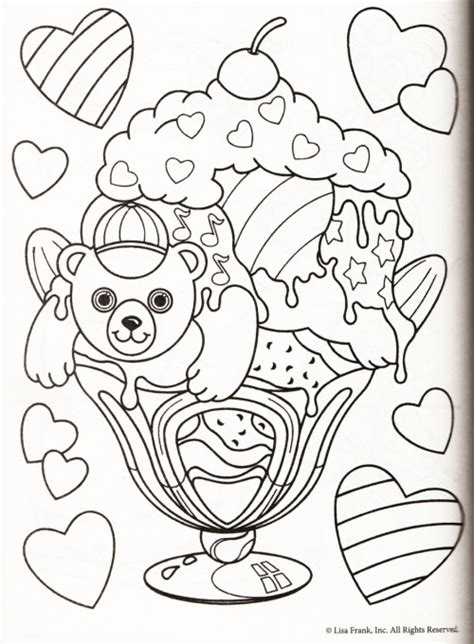 pictures of lisa frank coloring pages color me