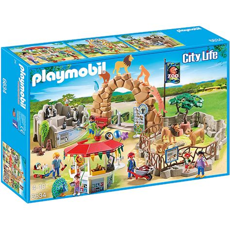 Playmobil Large Zoo large city zoo from playmobil wwsm