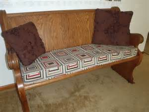 Bench Slipcovers Bench Cushion With Piping Youtube