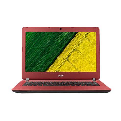 Jual Laptop Acer 14 Inch jual acer es1 432 notebook merah intel n3350 2gb 14 inch dos harga kualitas