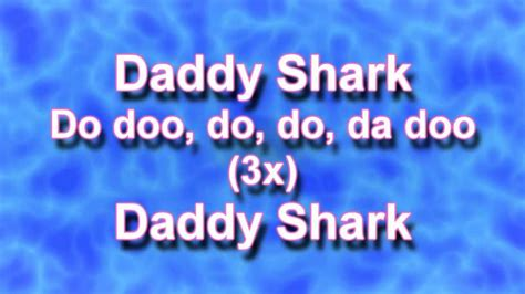 baby shark korean version lyrics baby shark song lyrics youtube
