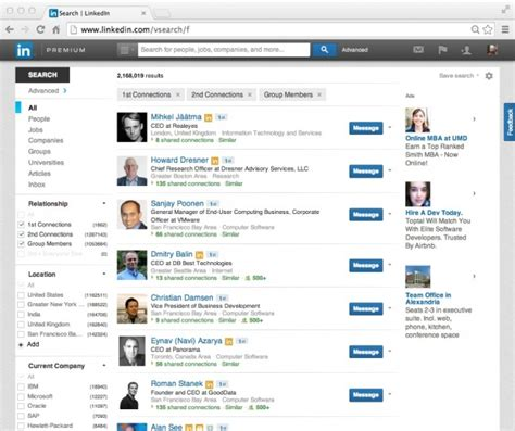 Search For On Linkedin My Search For Relevance On Linkedin Social Media Explorer