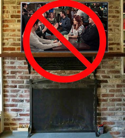 where to put tv don t mount a tv above a fireplace cnet
