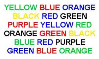 stroop color word test eldon books mind programming additional