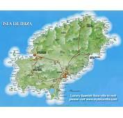 Landkarten Und Stadtpl&228ne Von Ibiza Spanien  Weltkartecom