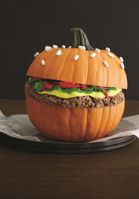picture  burger pumpkin