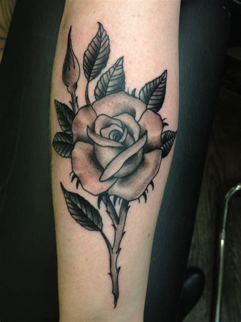 gray rose tattoo traditional black and grey www pixshark