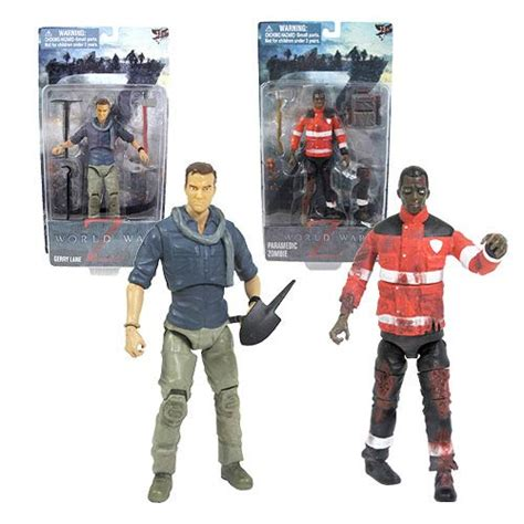 6 inch figure accessories world war z 6 inch and figure set