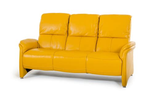 Yellow Leather Sofa Divani Casa Sunflower Modern Yellow Italian Leather Sofa Set