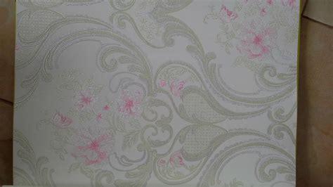 Wallpaper Dinding Motif Bulat Bulat 1 jual wallpaper dinding eropa motif dammas pink efron decor