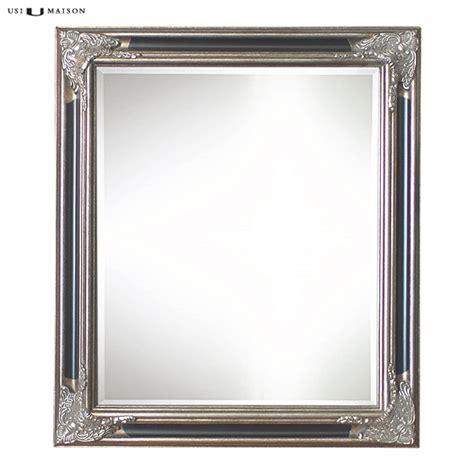 Klassische Spiegel by Klassischer Spiegel Lorrain Antik Silber Und Schwarz