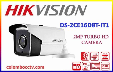 Hikvision Ds 2ce16c1t It1 2mp hikvision 2mp turbo hd cctv cameras in srilanka ds