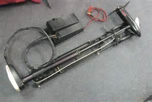 minn kota turbo 565 trolling motor complete with mount