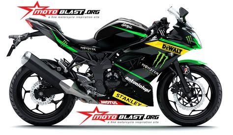 Striping Honda Beat Lama Motogp Tech3 modif striping kawasaki rr mono green tech3 motogp