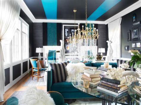 Glamorous Living Room Mixes It Up   HGTV