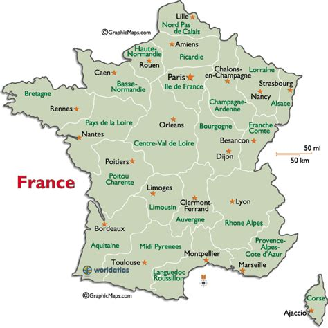 Map Of France Regions by France Regions Map