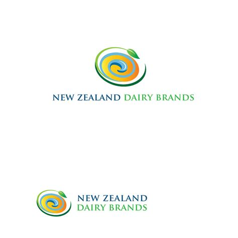 logo design new zealand serious modern logo design for new zealand dairy brands