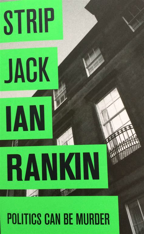 strip jack a rebus strip jack by ian rankin mum of three world